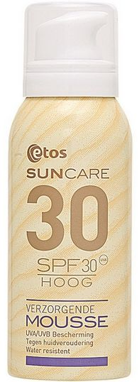 etos suncare verzorgende mousse