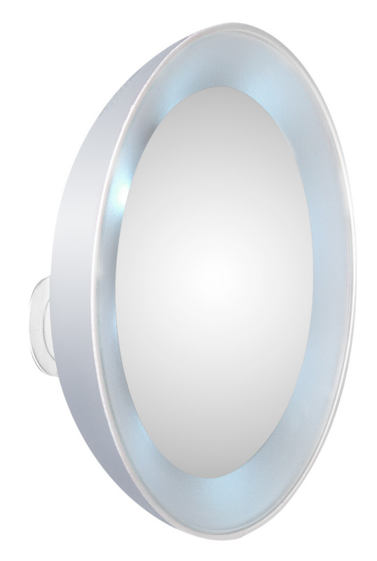 LED Mirror Silver with light!
