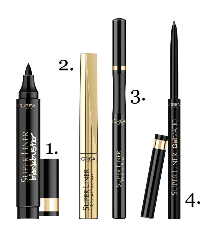 4x eyeliners van L'Oréal