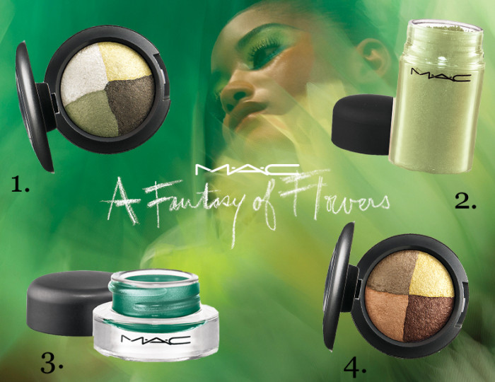 Nieuw van MAC: fantasy flowers in green