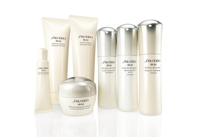 Marte test Shiseido Ibuki lijn