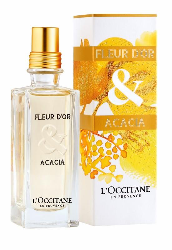Maxim test Fleur d'Or & Acacia van L'Occitane