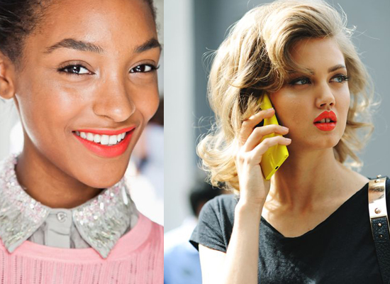 Trend: tropical coral Lips