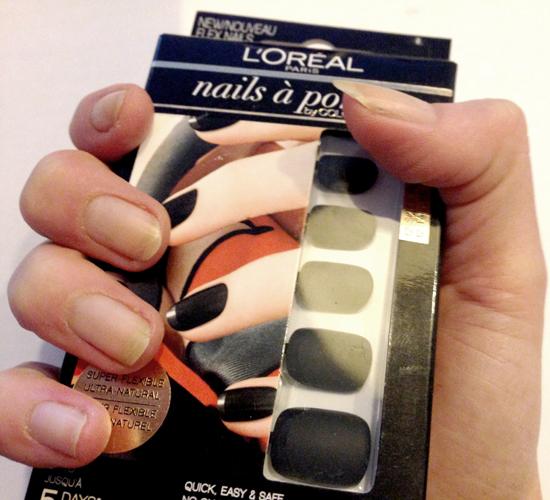 Sabine test L'Oreal Nails a Porter nagelstickers
