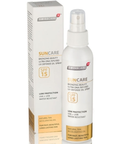 Rona test SwissCare+ Suncare Bronzing Beauty zonnelijn