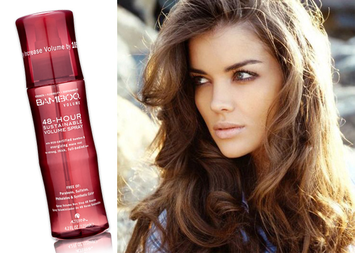 volume spray en model