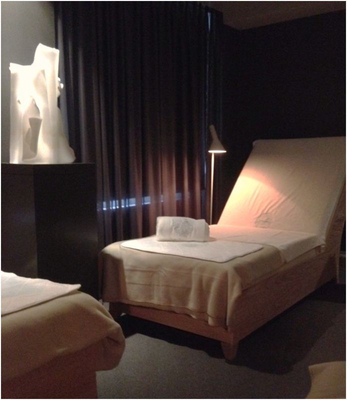 waldorf guerlain spa relaxroom
