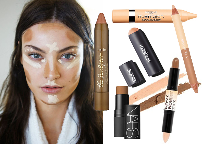 contouring collage
