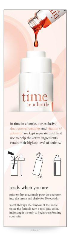 Philosophy Time in a bottle