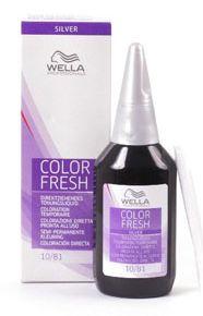 wella professional color fresh toner silver