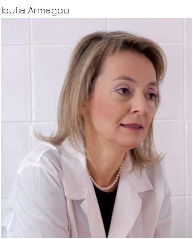 Ioulia Armagou, president of Juliette Armand