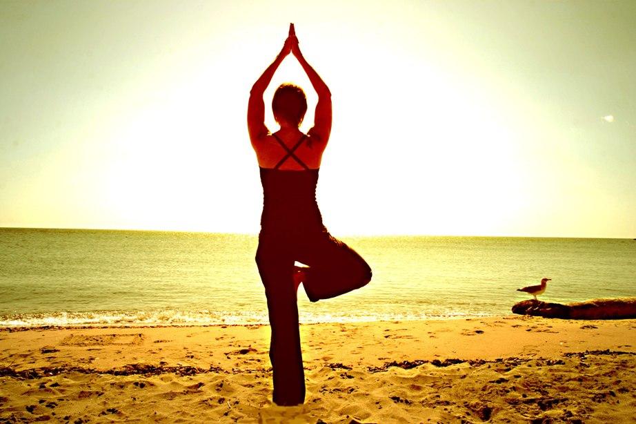 yoga-oefening