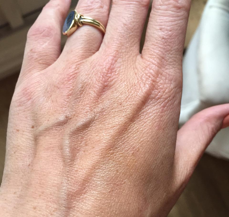 Dior Auto-Bronzant op Hand na 1 Dag