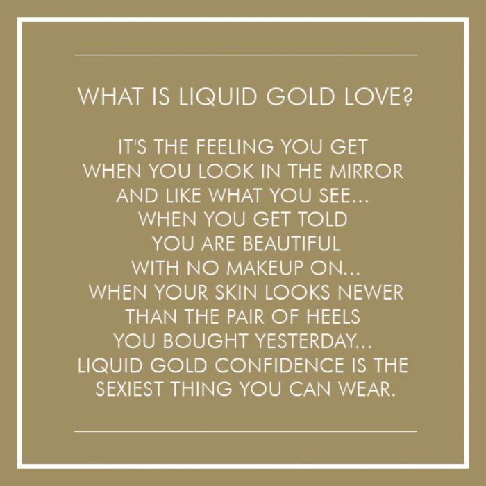 Liquid Gold Tegeltje