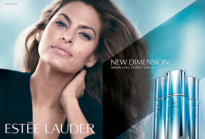 eva mendez estee lauder new dimension
