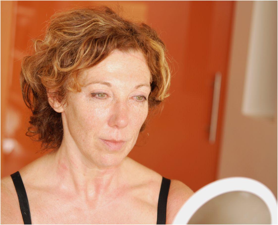 Anja geniet na van haar Environ behandeling