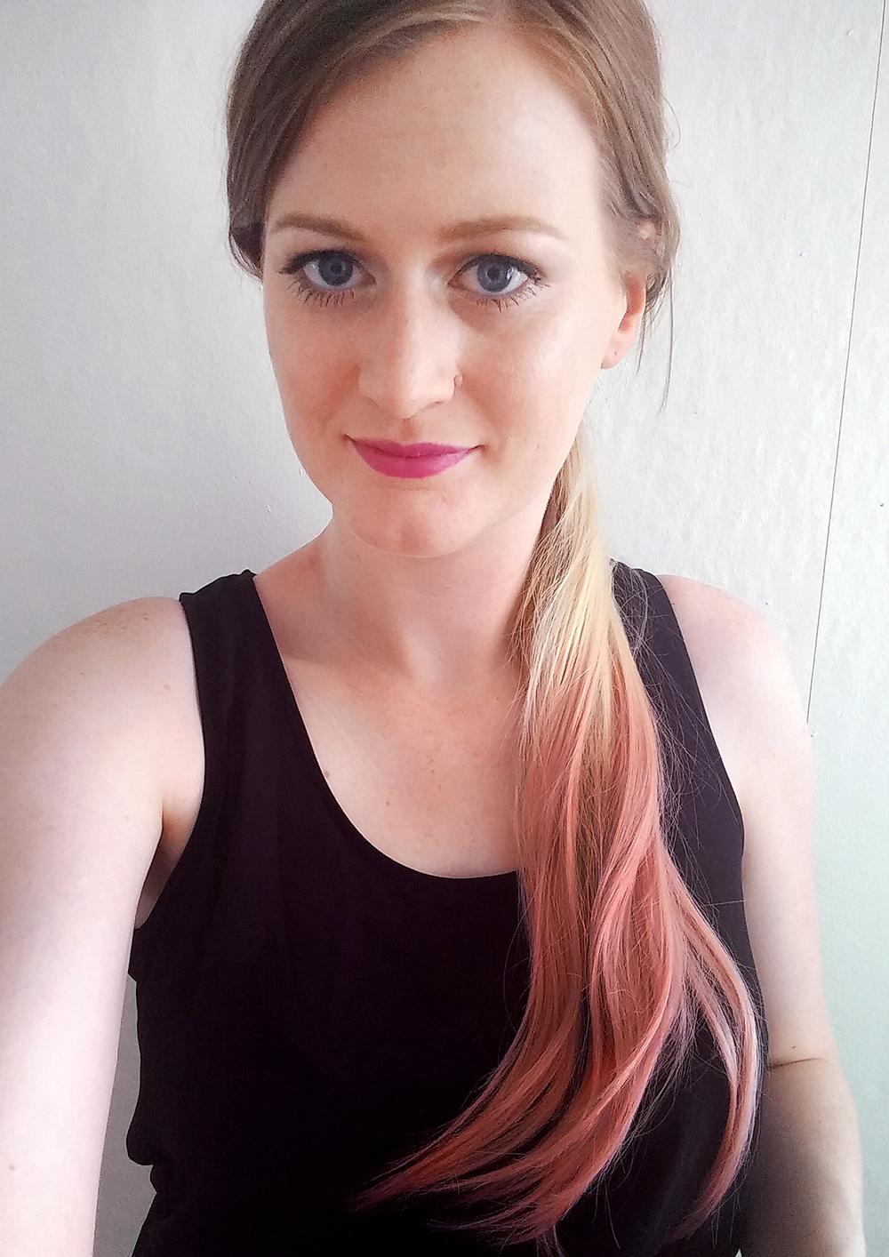 balmain catwalk ponytail foto voorkant kleiner