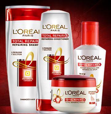 loreal paris elvive total repair 5 new