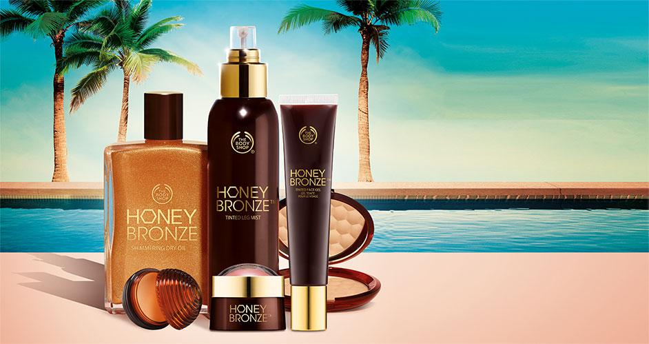The Body Shop Honey Bronze Range SS15
