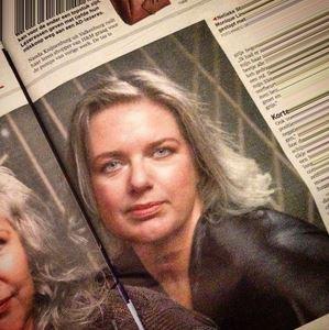 Met je grijze haar in de krant: AD, winter 2014