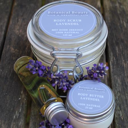 Botanical Beauty Body Scrub Lavendel