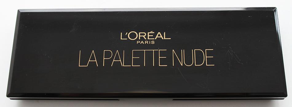 L'Oreal La Palette Nude Dicht