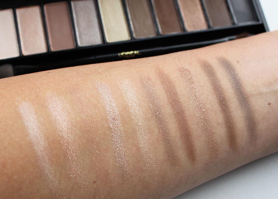 L'Oreal La Palette Nude Swatches