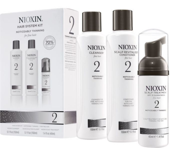 nioxin for thinning hair