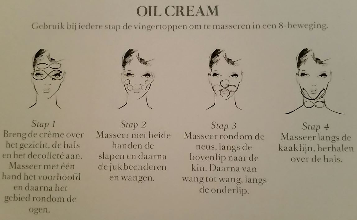 Aanbrengtechniek Oil Cream Darphin