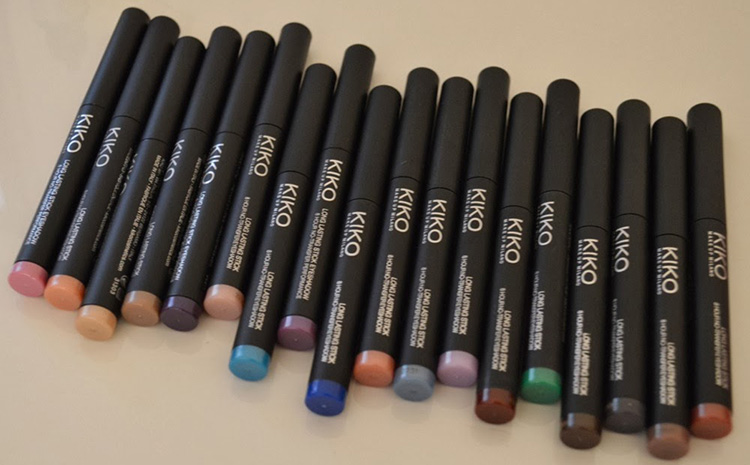 kiko eyeshadow sticks
