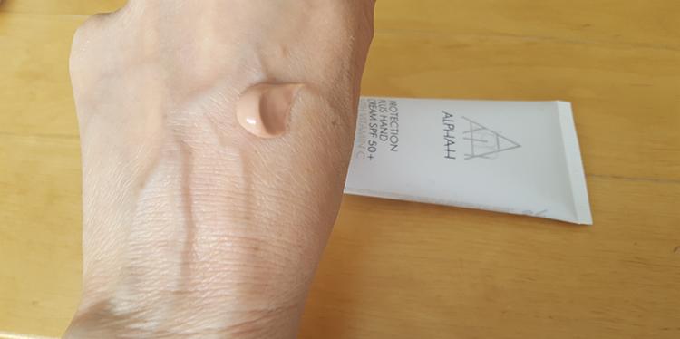 Alpha H Handcreme Textuur