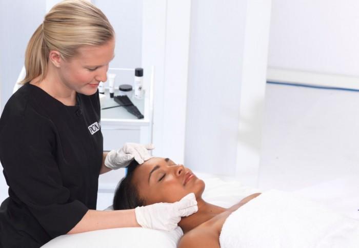 treatment dark skin pca