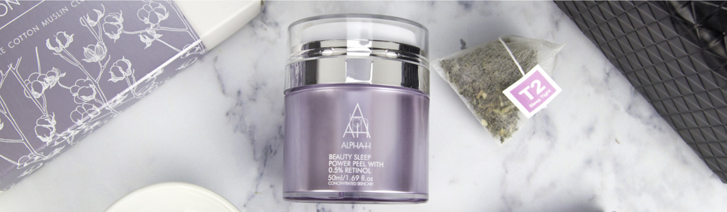 Alpha-H Beauty Sleep Power Peel Banner 2