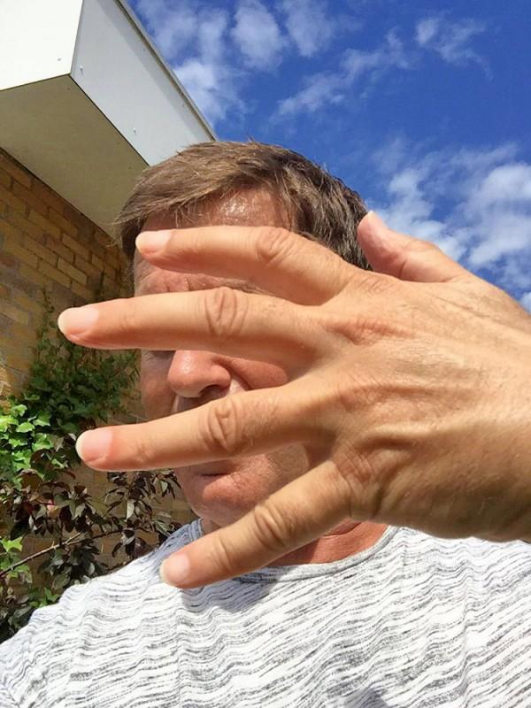 Mick handen
