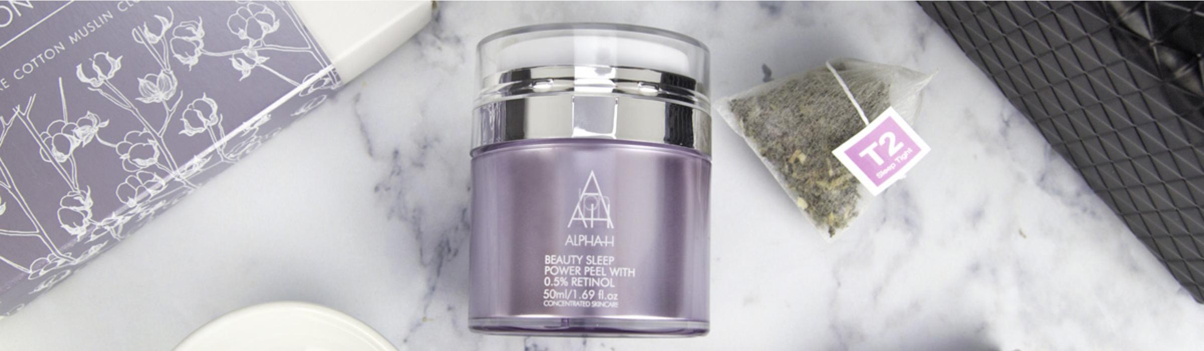 Alpha-H Beauty Sleep Power Peel Banner 2
