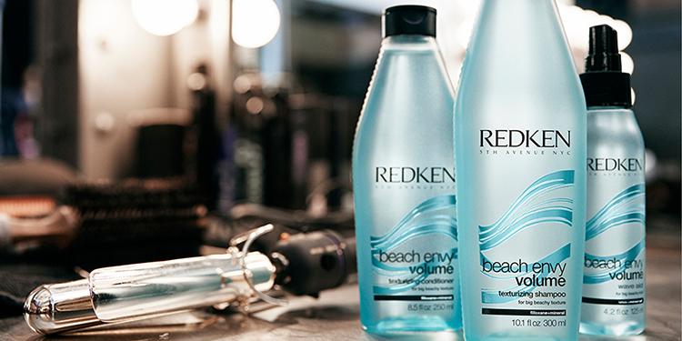 Homepage Redken Beach Envy Volume