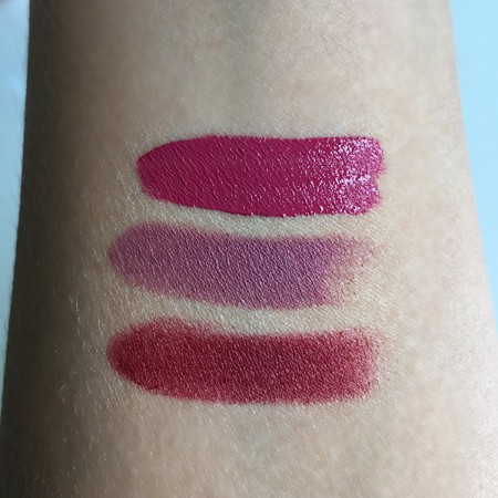 Clinique Pop Matte Swatches
