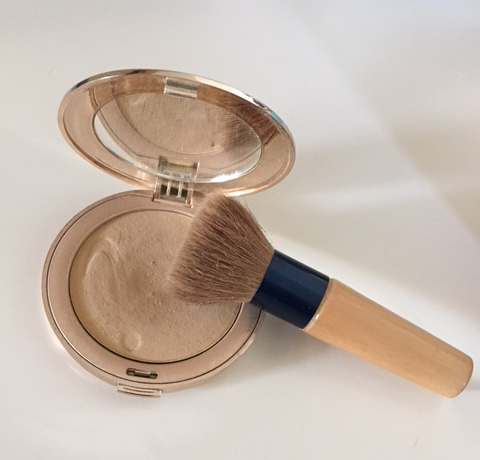 Jane Iredale Pure Pressed Foundation en Kwast