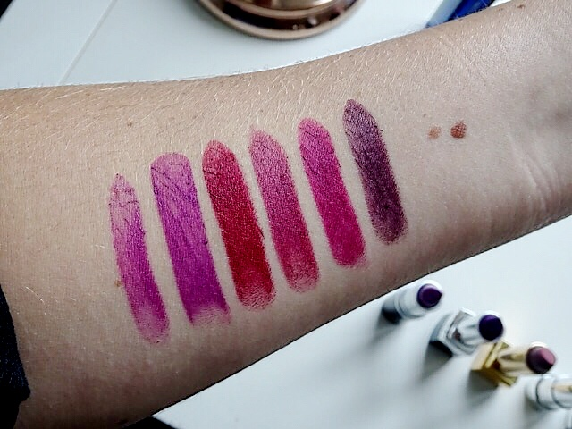 Berry Lipsticks Arm