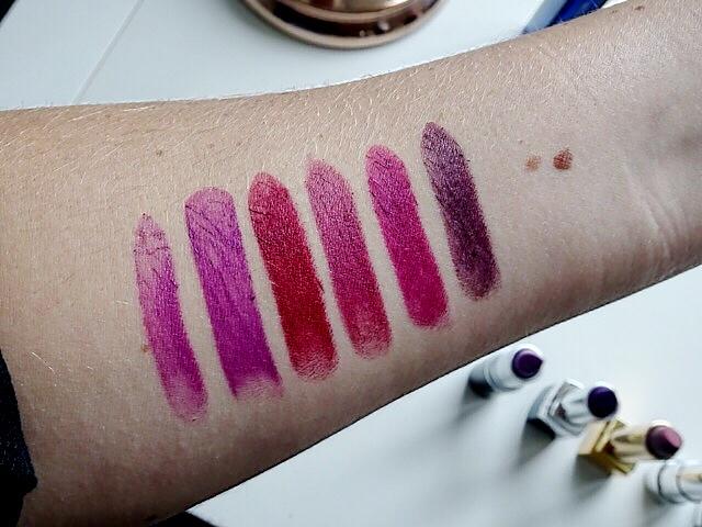 Berry Lipsticks Arm