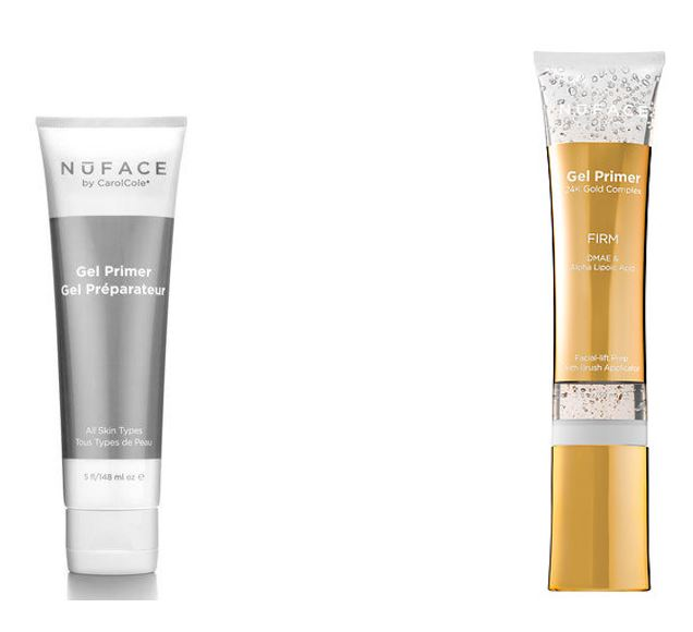 Nuface gel and gold gel firm