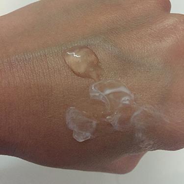 Squalan Cleanser Su Textuur