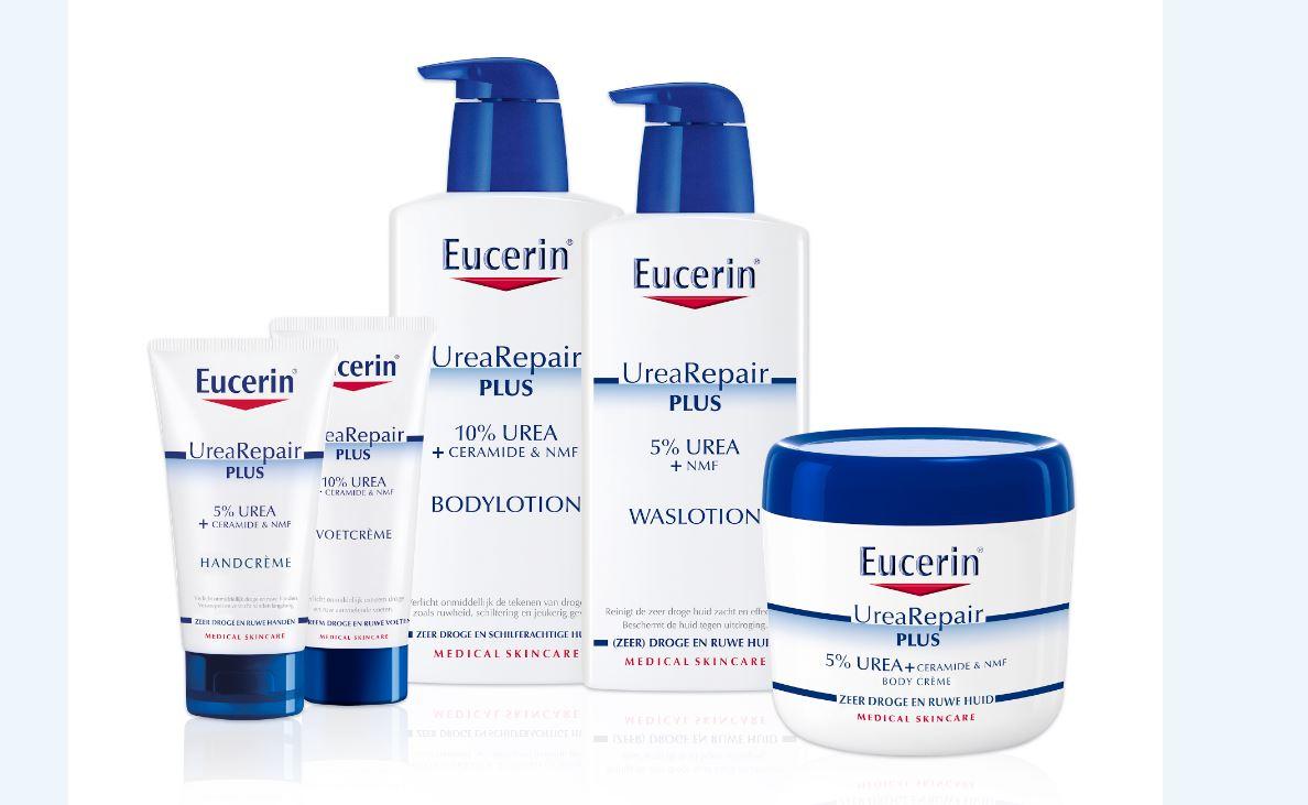 eucerin ureaplus range