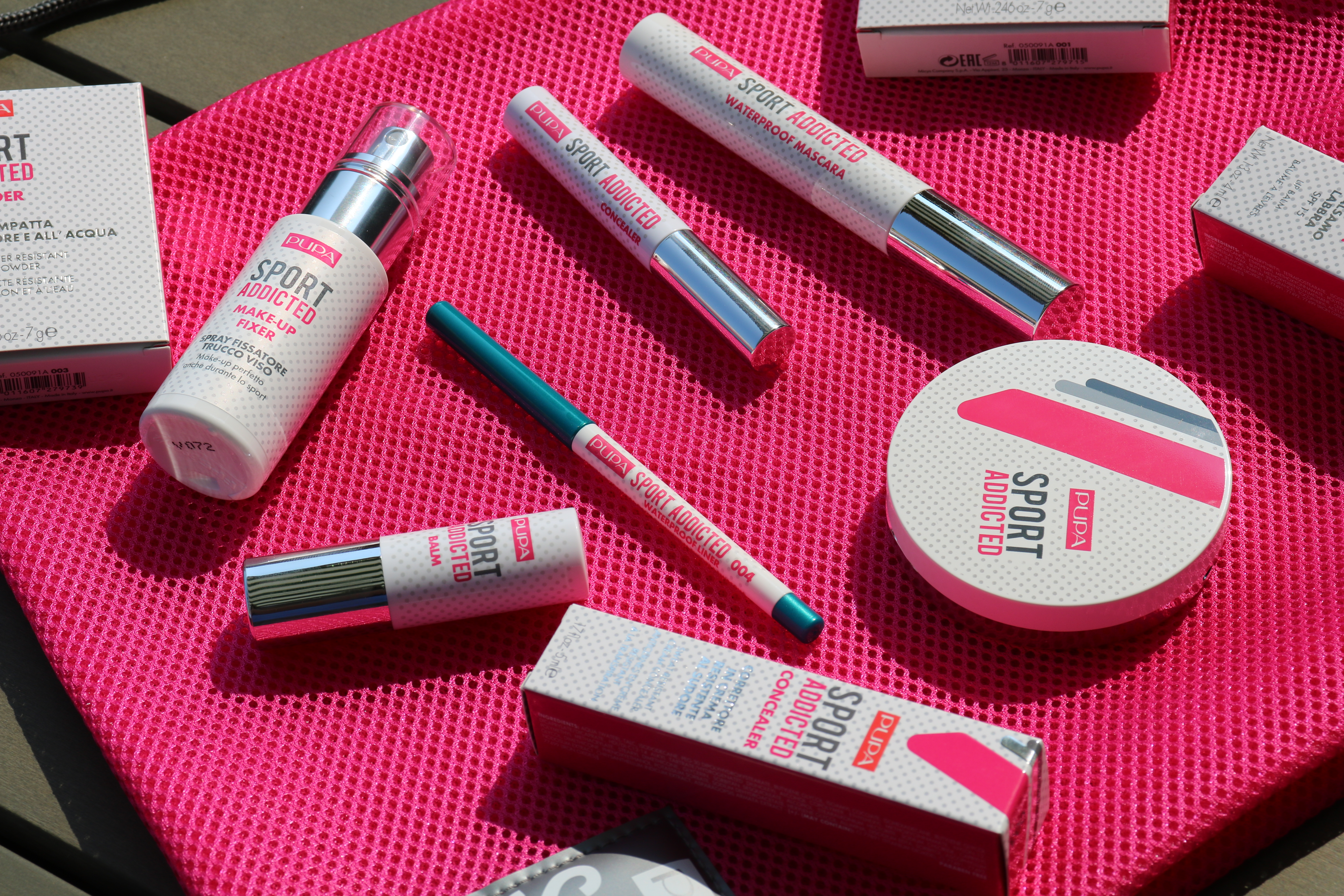 Pupa Sport Addicted make-up collectie