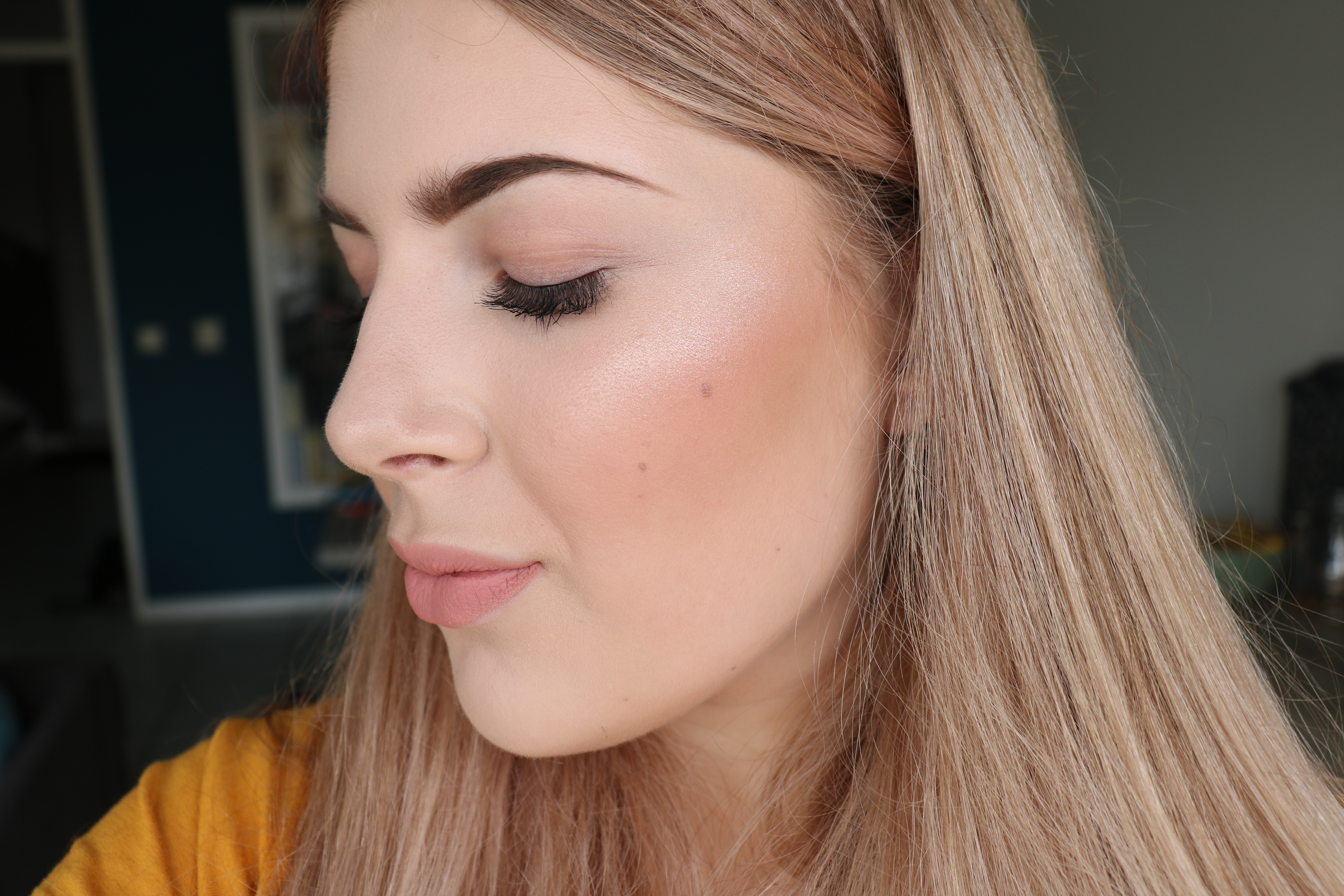 Blush en highlighter
