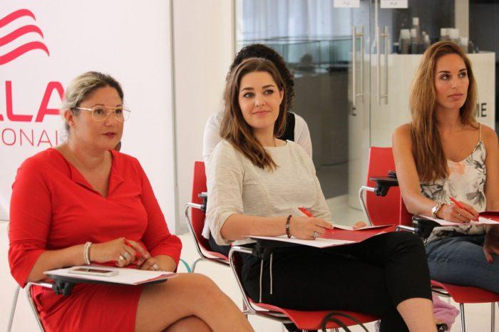Wella Professionals presentatie testteam