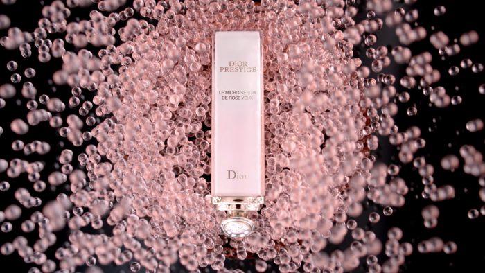 Dior Prestige Le Micro-Sérum de Rose Yeux droge huid