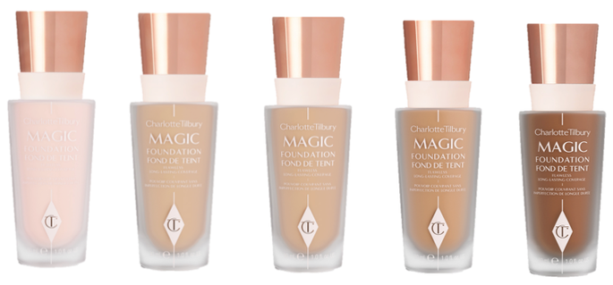 Charlotte Tilbury Magic Foundation & Light Wonder Foundation