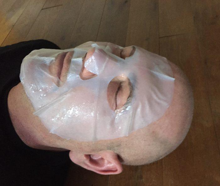 Starskin Leading Man Hydrating Bio-Cellulose Face Mask