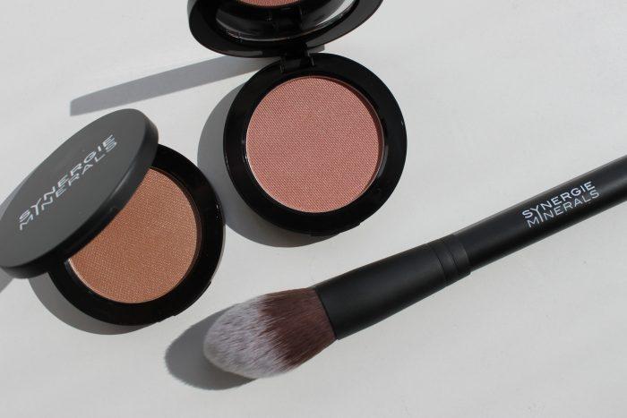 blush en bronzer